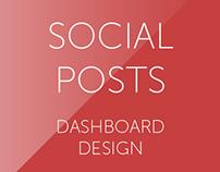 Bleat - Social Posts Dashboard