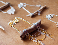 Jewelry Design: Wood & Crystals