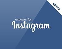 Explorer for Instagram (beta2 - under development)