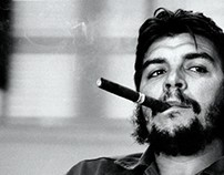B&W Che Guevara Photo Colorize
