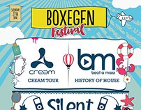 Boxegen 2015 Festival Poster - Box Nightclub