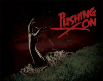 Pushing On - 45 Record Cover