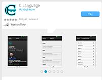 C Language Firefox OS app
