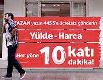 Vodafone / 10 Kat Konuşturan Kampanya
