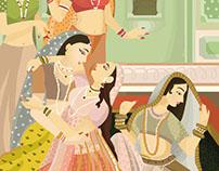 Rekhti Poetry in Urdu. An Editorial Illustration