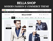 Bella Shop- Modern Fashion E-COmmerce Theme