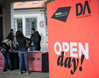 NABA Open Day / identity and signage