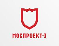 Mosproekt-3 — corporate identity