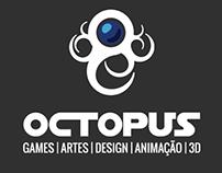 Logo, social media e impressos | Octopus