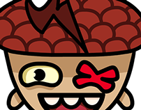 Andi Acorn Sticker Set