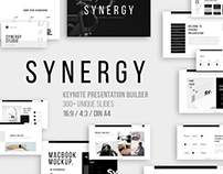 Synergy Keynote Design Presentation - 300+ Slides