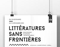 """Exposition """"Littératures sans frontières"""""""