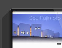 Portfolio S. Fujimoto - Web Design