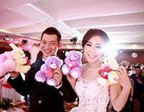 Wedding of joni & san san