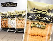 Design de embalagens e marca de biscoitos caseiros
