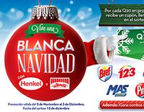 """Christmas Promo Campaign """"Vive una Blanca Navidad"""""""