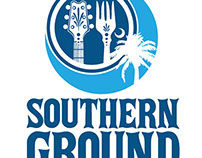 Southern Ground Music & Food Festival Signage
