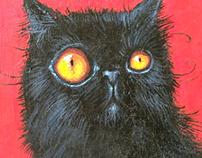 Black Cat - SOLD