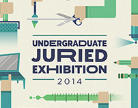 Undergraduate Juried Exhibition - Poster