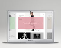 new portfolio site 2015
