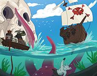 Cartoon Piracy - Concept Art Test