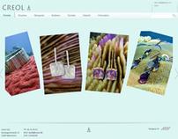 Creol - webshop