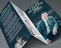 FREELANCE // Tyler Weston Political Trifold