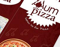 Hum Pizza Brochure