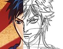 "lineart & coloring ""Takumi mochizuk"""