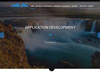 WildBlu Website - One Page Layout (USA 2014)