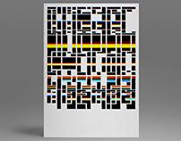 HV Font | DE 2014 | 100/1 | Glitch Experiment