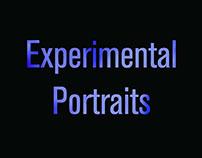In Studio Experimental Portraits