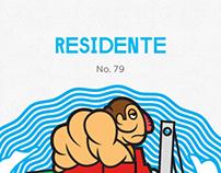 Residente Monterrey - Cartón