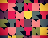 PATCHWORK APP TYPOGRAPHY -with a Drawing app-
