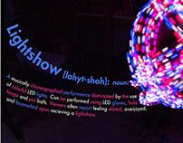 Type&Image Exercise: LED Lighshows