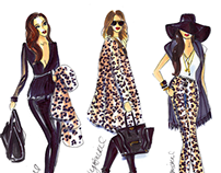 Leopard Ladies