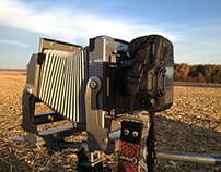 Calumet 4x5 with Canon EOS 6d