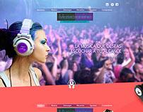 Music online - diseño digital