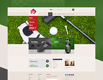 Golf-Web Design