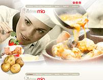 Gastronomia - web design