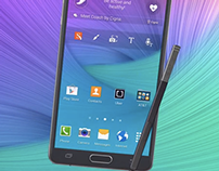 Model: The Note 4 Stylus