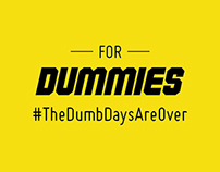 For Dummies Rebrand + Campaign
