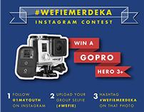 Wefiemerdeka Contest