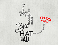 """The Cat In The Hat"" Kinetic Typography Process boards."