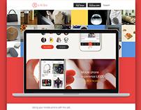 liequ app ios design
