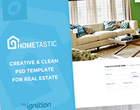 Hometastic - Real Estate PSD Template