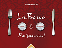 Labono Menu Card