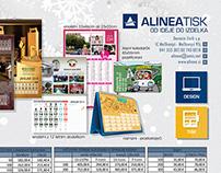 ALINEAtisk calendar