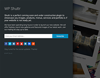 WP Shuttr - Wordpress Coming Soon | Maintenance Plugin