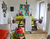 Eclectically Femme European Rental Apartment